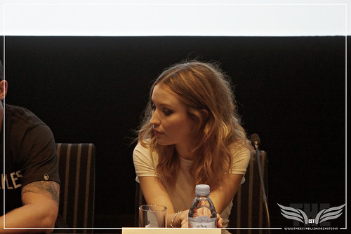 The Establishing Shot: LEGEND PRESS CONFERENCE - ACTOR EMILY BROWNING - SOHO HOTEL, LONDON