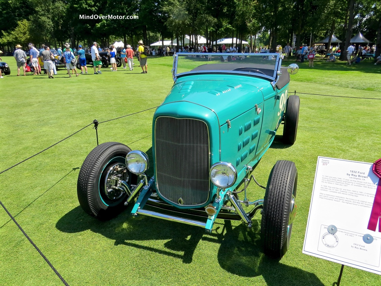 1932 Ford Turquoise