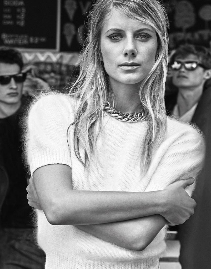 Мелани Лоран — Фотосессия для «The Edit» 2015 – 2