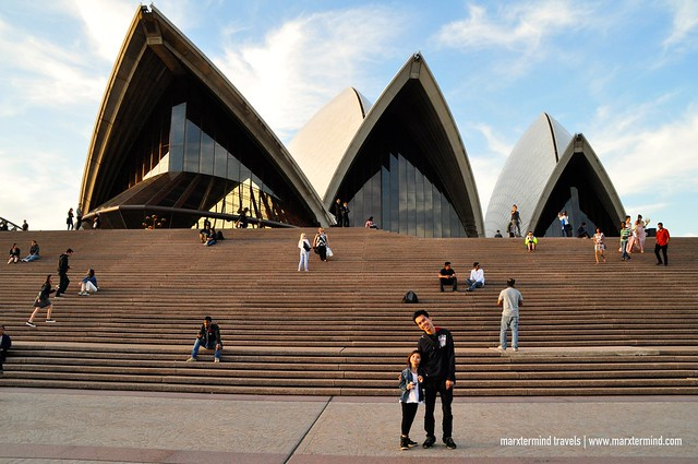 With Luna at Sydney Opera House