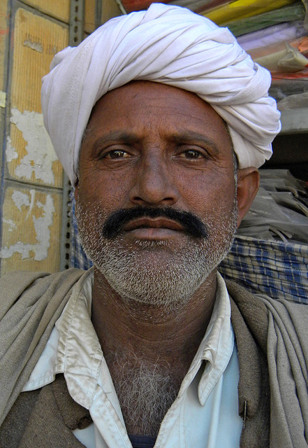 A Man in the Jaisalmer market