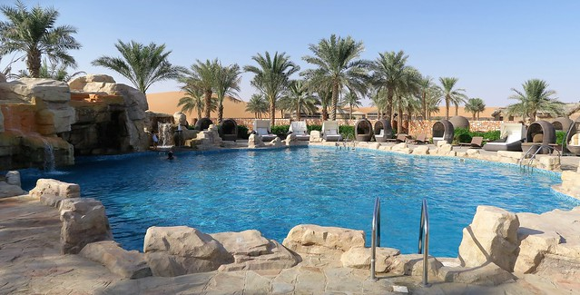 arabian nights village pool