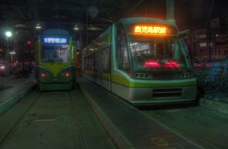 Tramcars at Kagoshima on OCT 23, 2014 (17)