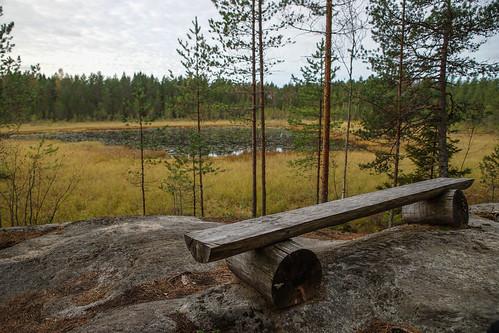 lake suomi finland pond woods hiking path route metsä kuni järvi lampi vaellus polku reitti ostrobothnia korsholm