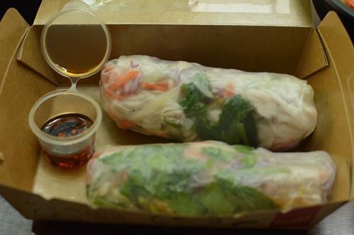 Fish, chicken rolls