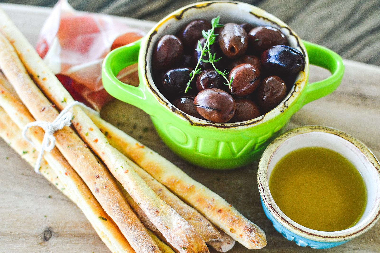 Herbed Parmesan Grissini