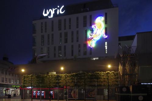 Exterior of Lyric Hammersmith