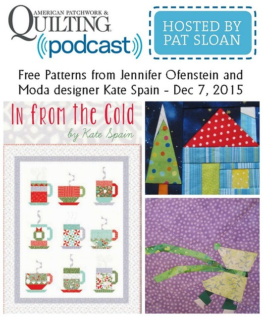 1 pat sloan Dec 7 2015 free patterns