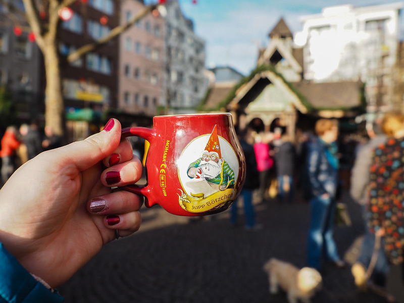 Gluhwein mug in Germany