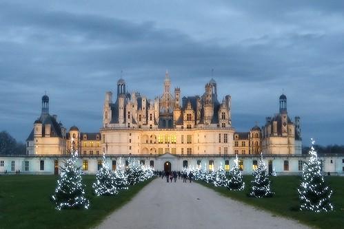 Féérie de Noël au Château de Chambord