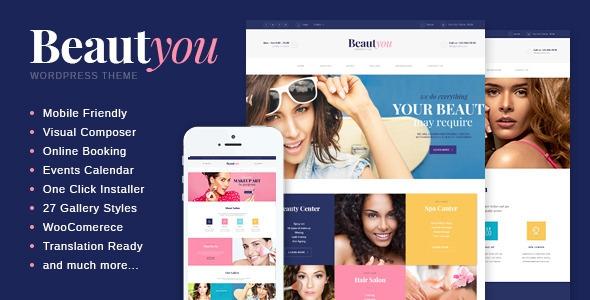 Beauty v2.4 - Hair & Spa Salon Wordpress Theme