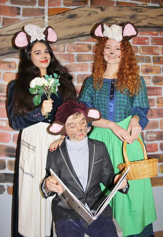 Mouse Matthew, Zoe, Eleanor