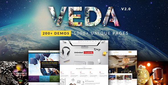 VEDA v2.6 – Multi-Purpose Theme