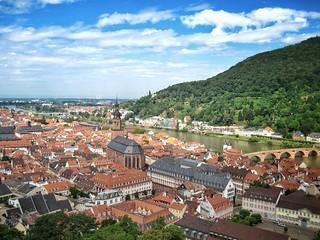 Obraz Zamek w Heidelbergu.