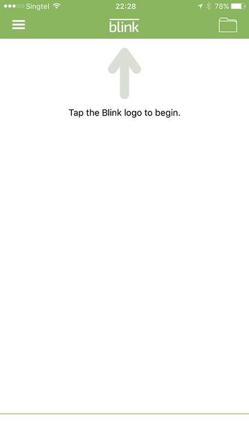 Blink iOS App - Blink System - Setup #1