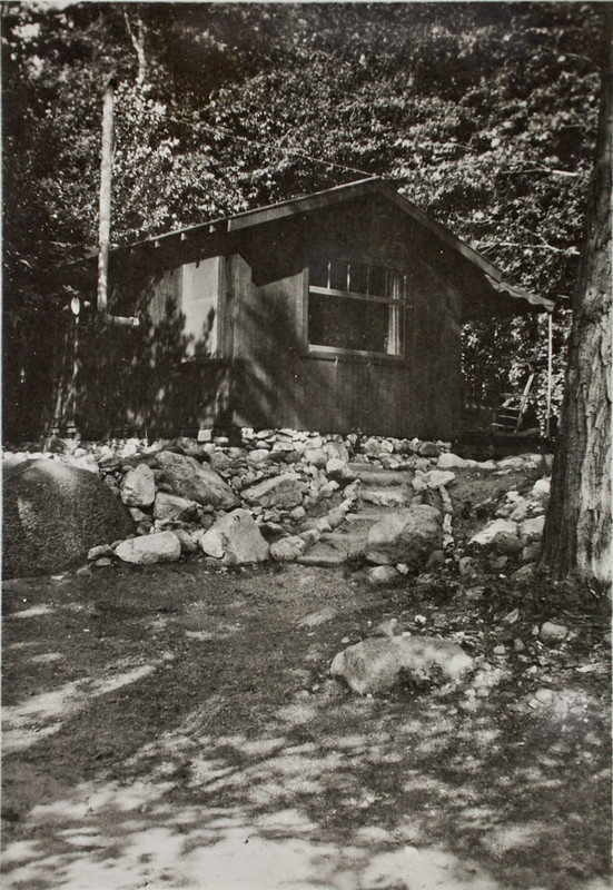 Cabin in San Gabriel Canyon #123 above the Narrows