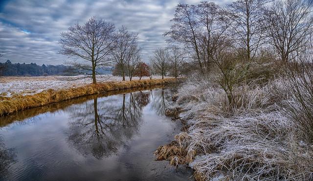 Winter an der Wümme