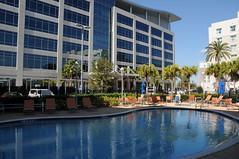 Pool at the Hilton Gardens Inn in Tampa Florida