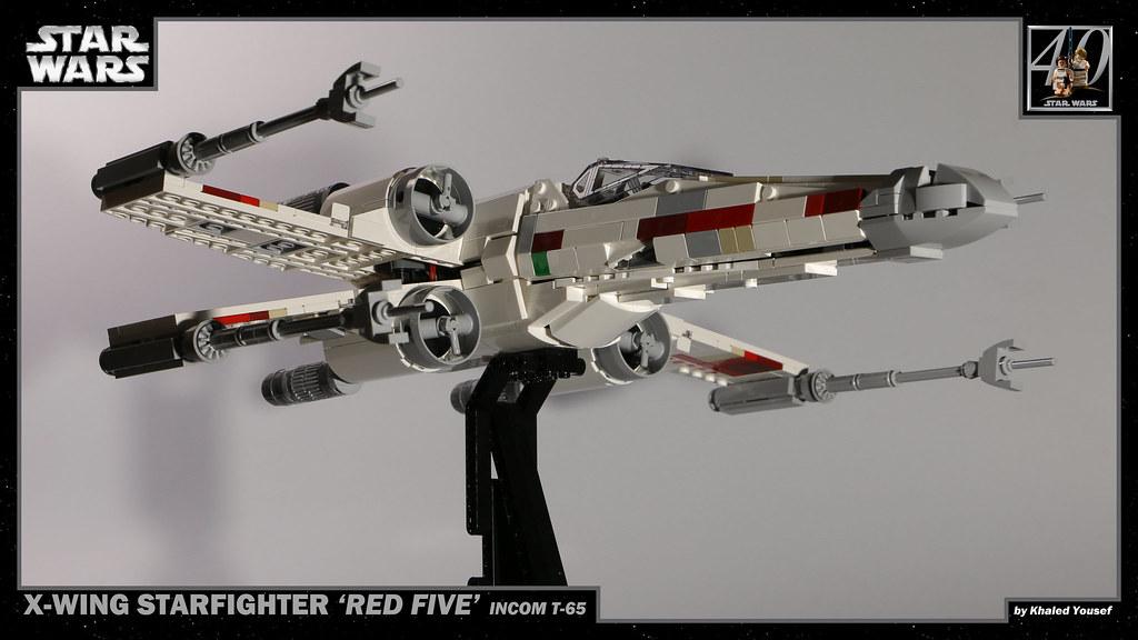 LEGO Star Wars - T-65 X-Wing 4 4K