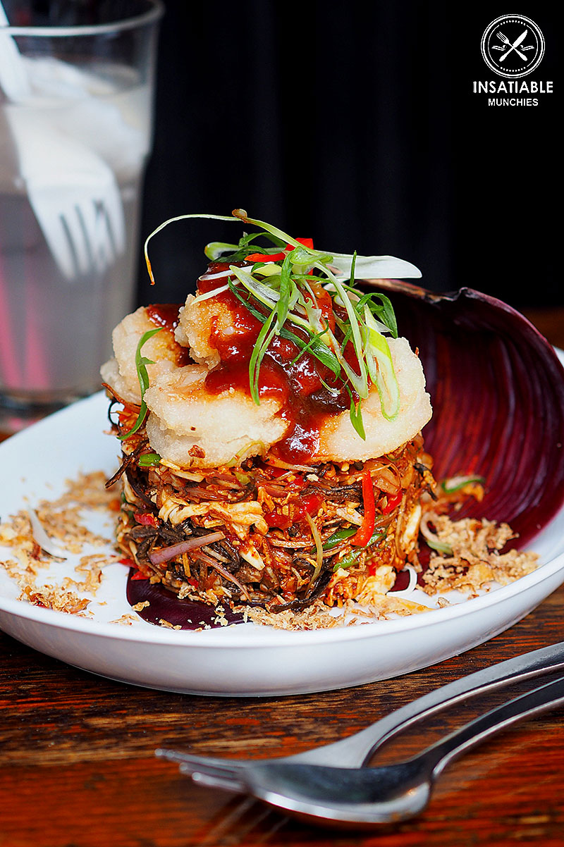 Sydney Food Blog Review of Spice I Am, Surry Hills: Banana Flower Salad, $29