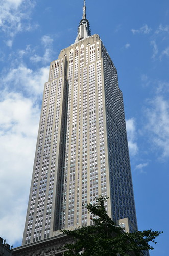 New York Empire State Building Aug 15 3