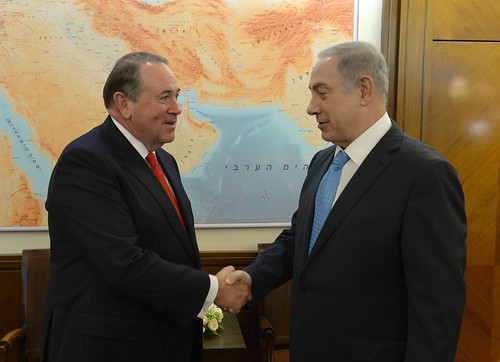 PM Netanyahu's Meeting with Governor Mike Huckabee