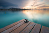 Edge of the pier - Alcudia by - David Olsson -