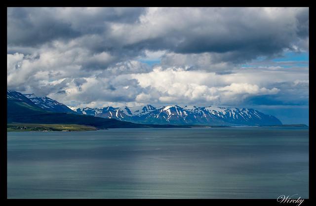 Fiordo Eyjafjördur en Akureyri