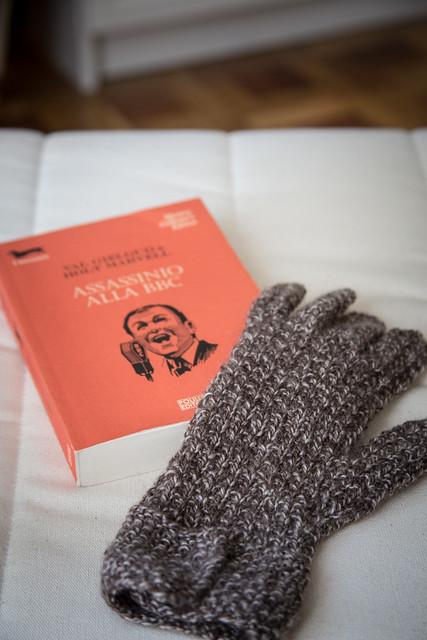 glove & book