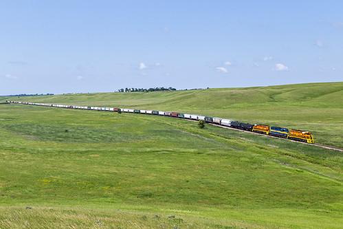 railroad train lakebentonmn rapidcitypierreeastern rcpe3422 rcpe3429 mhutr rcpe6429