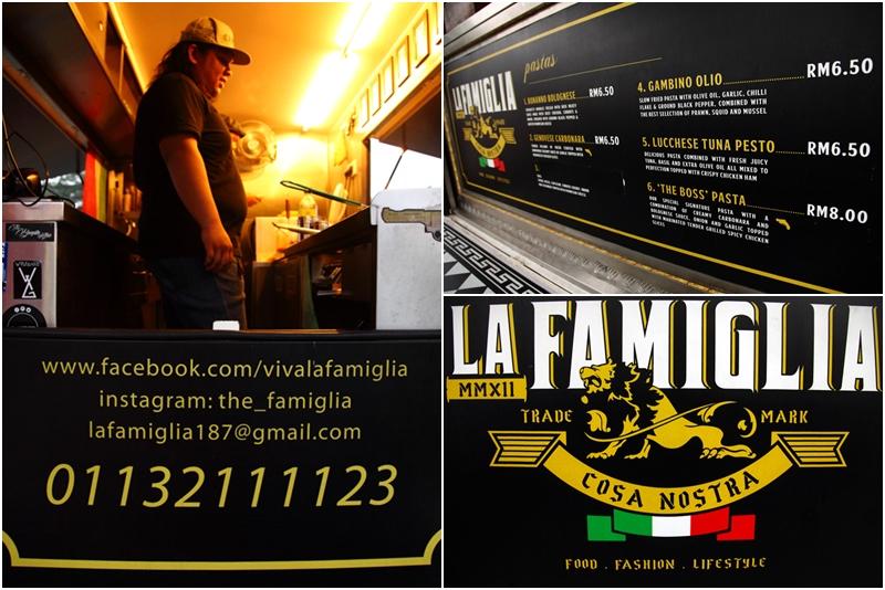 La Famiglia Food Truck TTDI KL
