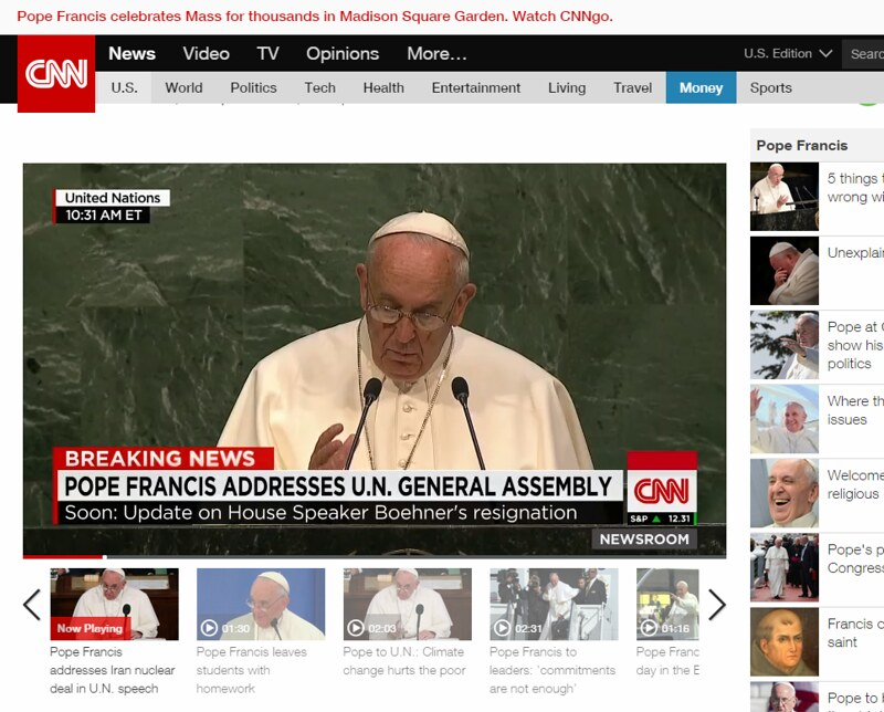 pope in usa