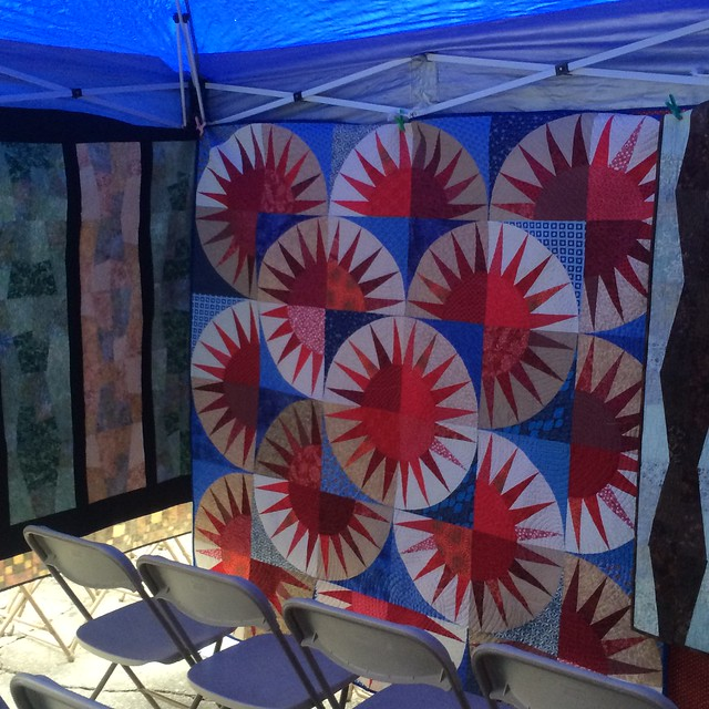 Blue Jay Quilt Walk 2015 auction