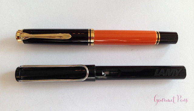 Review Pelikan Souverän M800 Burnt Orange Fountain Pen @AppelboomLaren (3)