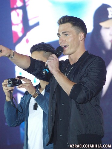 Colton Haynes at AsiaPop Comicon Manila 2015