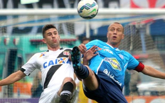 Andr� Lima marca no final e Ava� empata contra o Vasco: 1 a 1