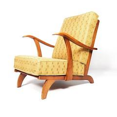 Liberty smoking chair, Holland 1940-50's.  #libertychair #easychair #DutchDesign #midcenturydesign #midcenturyfurniture #midcentury #furniture #vintage #vintagedesign #vintagefurniture #retro #retrodesign #retrofurniture