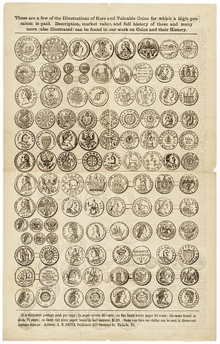 A.M Smith U.S. Coins Broadsheet side 1