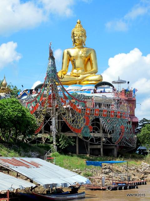 Buddha on Treasure Boat