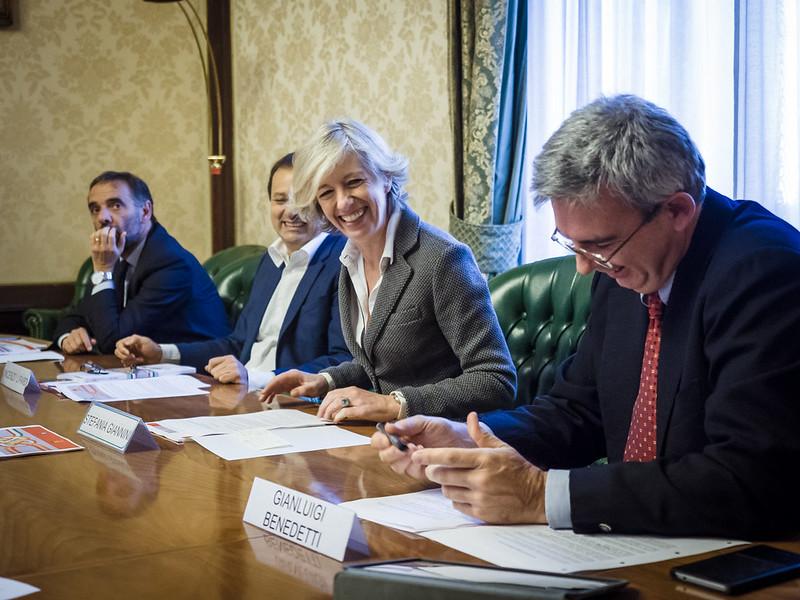 Presentazione missione in Cina del Ministro Stefania Giannini