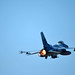 An F-16 Fighting Falcon takes off Sept. 25, 2014, during Distant Frontier at Eielson Air Force Base, Alaska. The F-16 is assigned to the 18th Aggressor Squadron. Aggressor pilots are trained to act as opposing forces in Red Flag-Alaska, to prepare U.S. and allied forces for real-world aerial combat. (U.S. Air Force photo/Staff Sgt. Jim Araos)