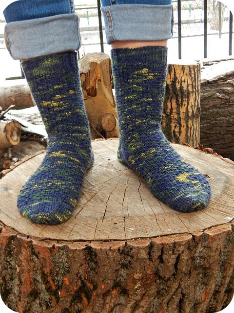 stranded show off socks