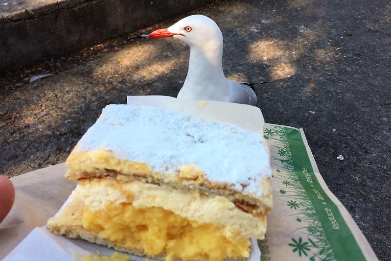 Vanilla slice, The Flaky Tart