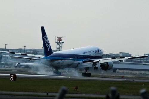 福岡空港 ranway34