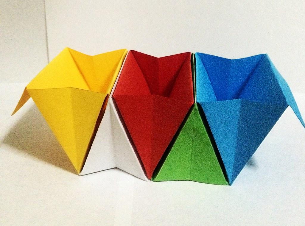 Origami Accordion Box Tutorial - DIY Roll Up Box - Paper Kawaii | 759x1024