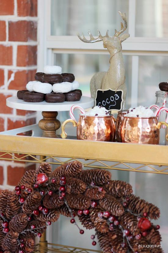Hi Sugarplum | Cocoa & Cocktails Party