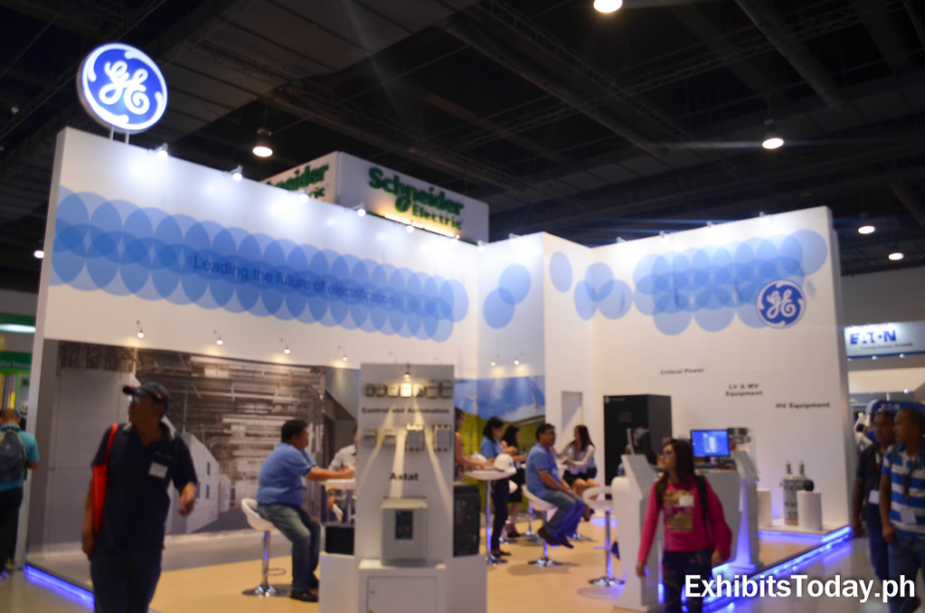 GE Electronics Trade Show Display