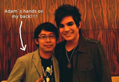 Adam Lambert and me