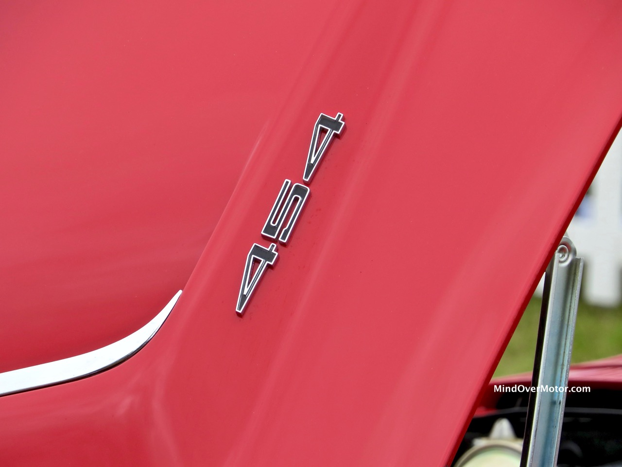 1971 Corvette Stingray Hood Badge