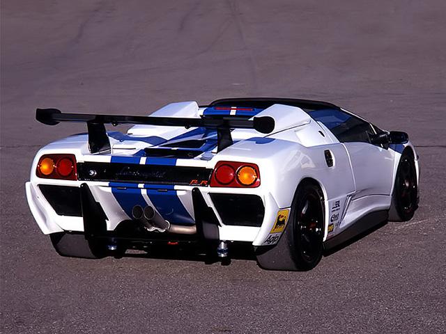 Lamborghini Diablo VT-R Roadster. 1997 год